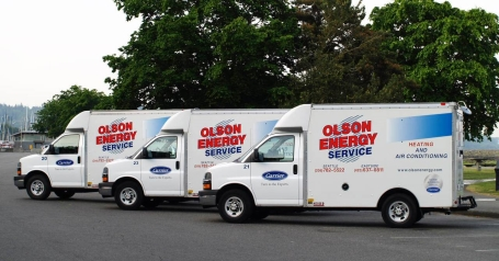 Olson Energy Service Trucks