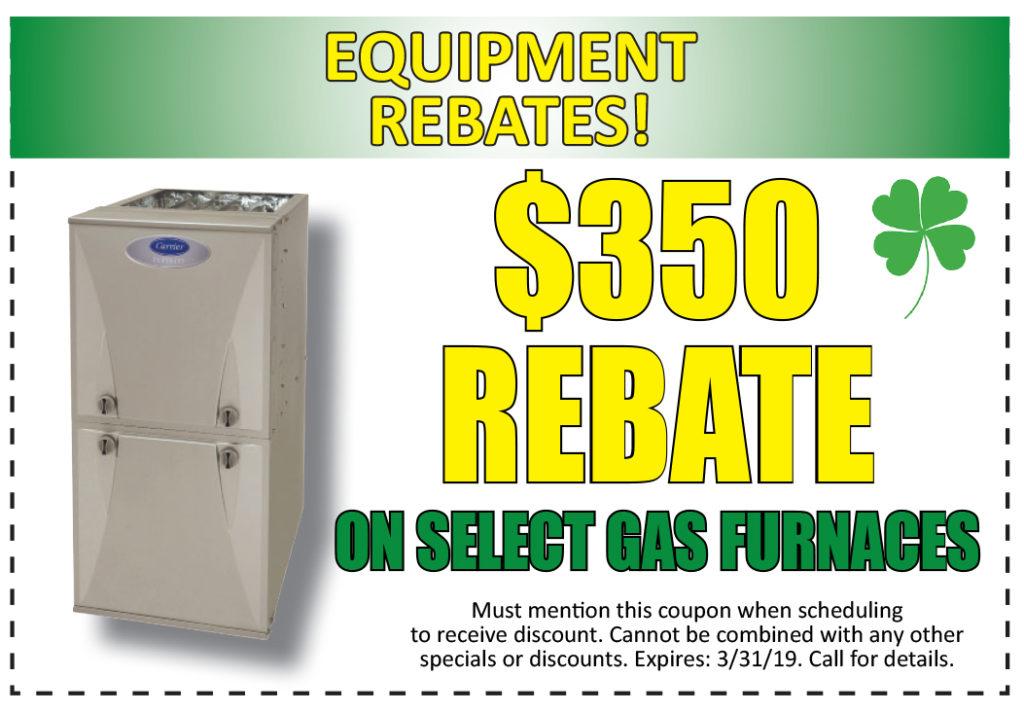 $350 Gas Furnace Rebate