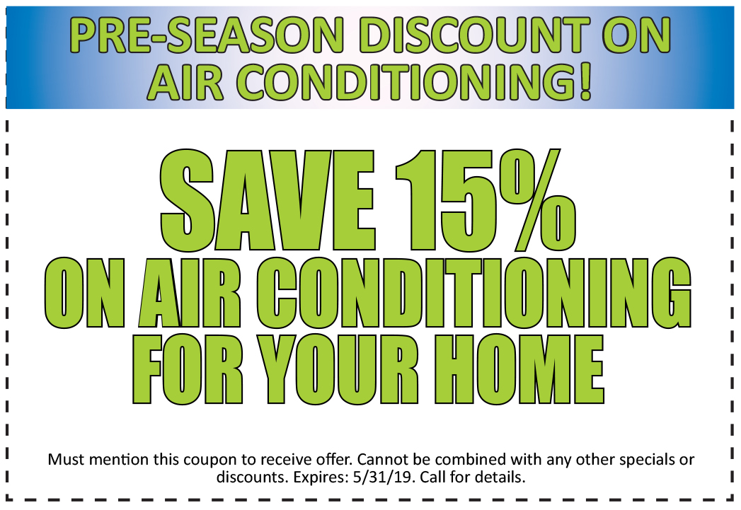 Discount- 15% off on Air Conditioning at Olson Energy