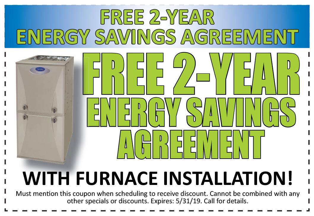 2 Years Energy Savings Agreement- Free