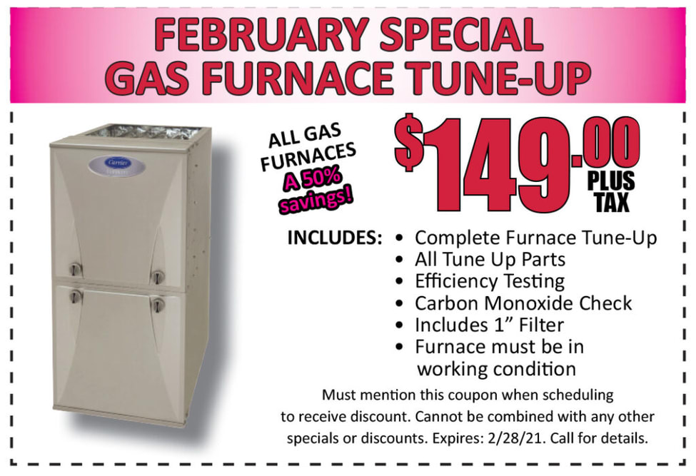 February Special Gas Furnance Tune-Up