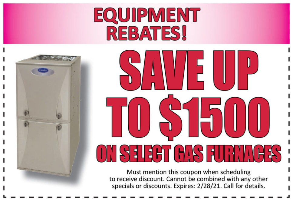 Gas Furnace Rebates specials by Olson Energy Service