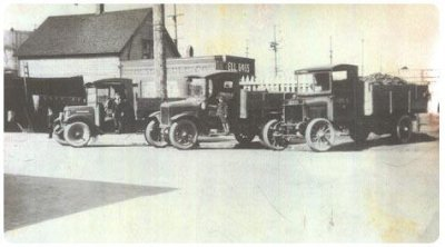 Olson Energy Service Antique Trucks